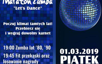 "Maraton Zumba ""Let's Dance"""