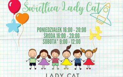Świetlica LadyCat – nowe godziny otwarcia